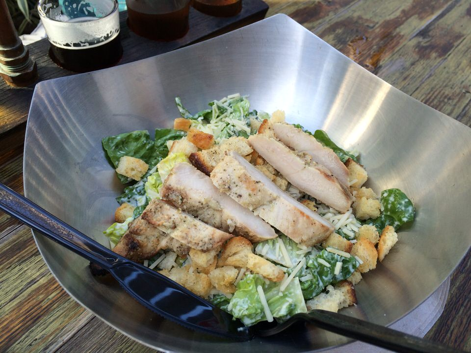 Hail the Caesar Salad with Grilled Chicken $10.50