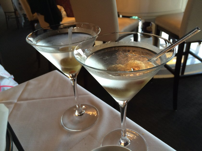 Tanqueray Martinis $9