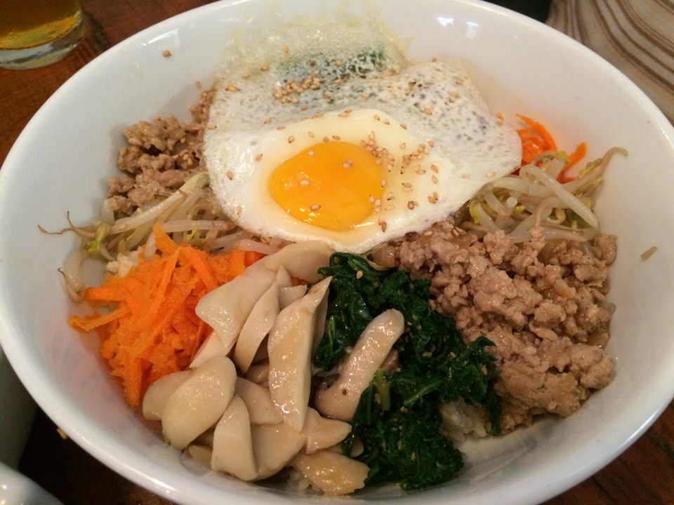 LOCAL VEGETABLES BIBIMBAP $12.00