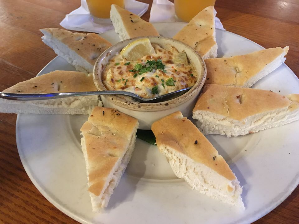 HOT CRAB & ARTICHOKE DIP $8.95 (通常$14.95)