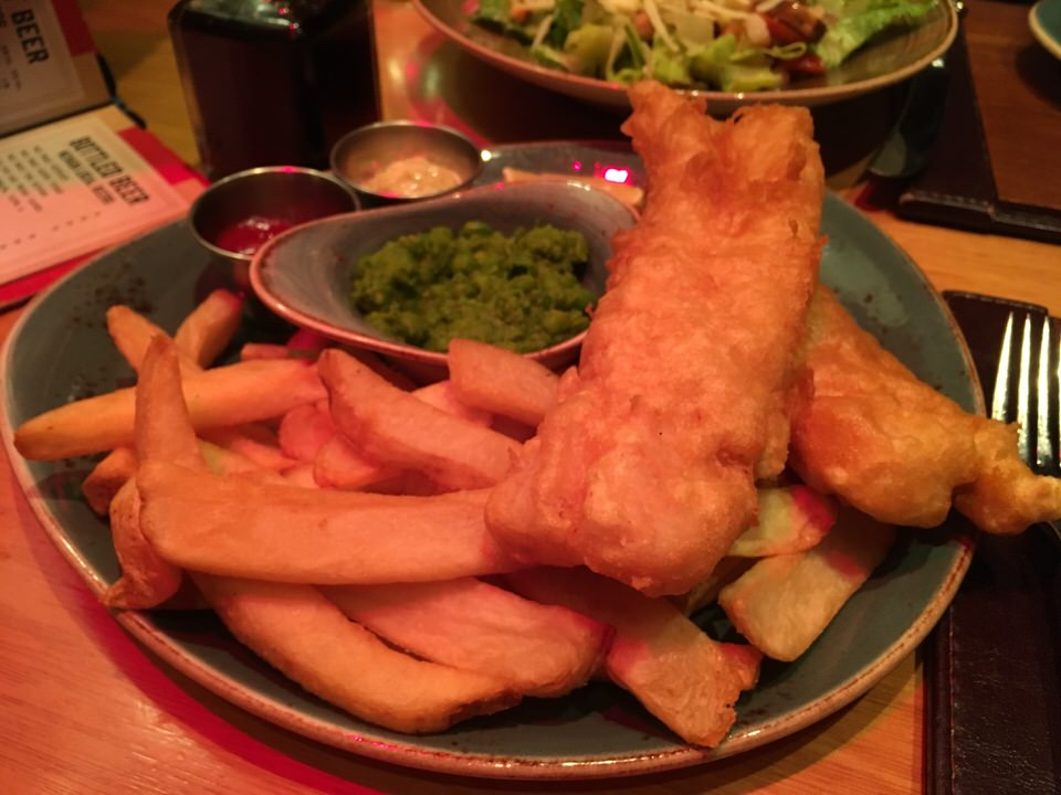 Yorkshire Ale Butter Fish & Chips $30