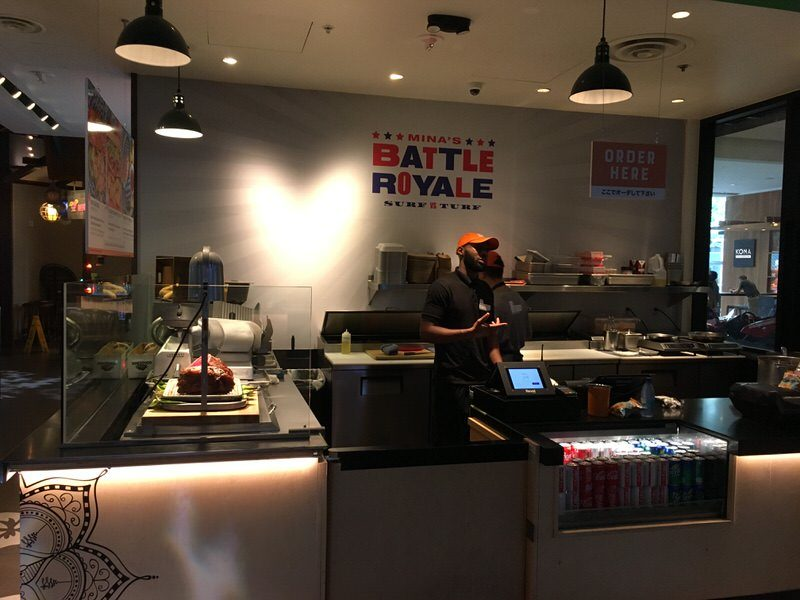 Mina's Battle Royale: Surf & Turfのお店外観