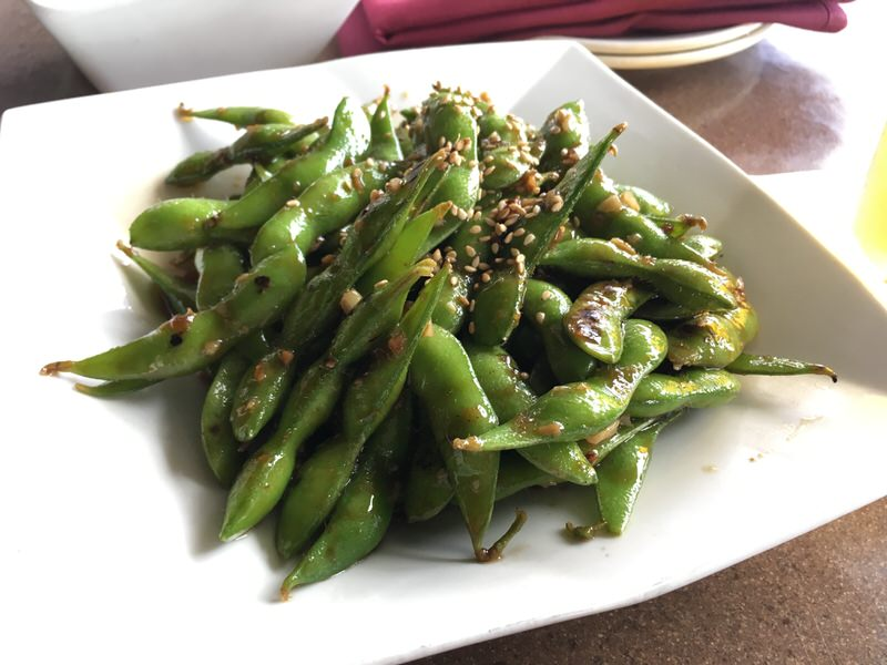 FLASH STIR FRIED EDAMAME 5ドル