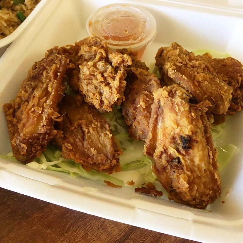Crispy Fried Chicken Wings (Peek Kai Tod) $10