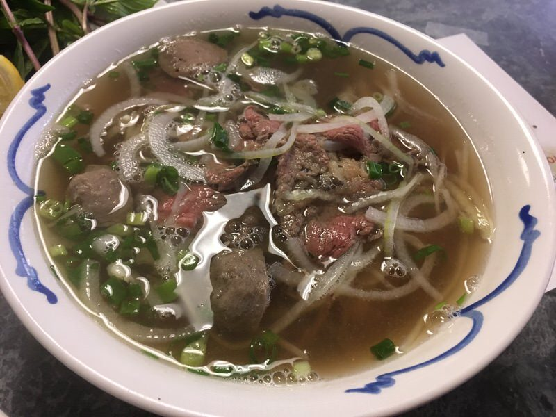 フォーミンスーのBEEF COMBINATION NOODLE SOUP